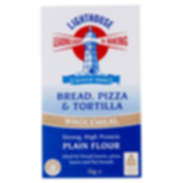 Lighthouse Wholemeal Bread, Pizza and Tortilla Plain Flour 1kg