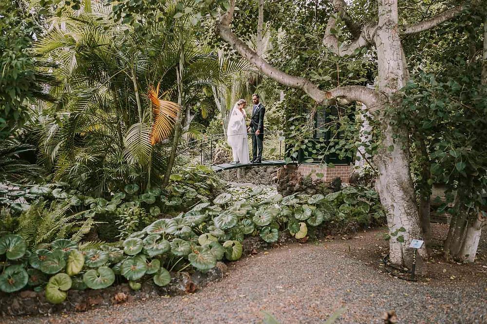 boda en el jardin de la marquesa de arucas