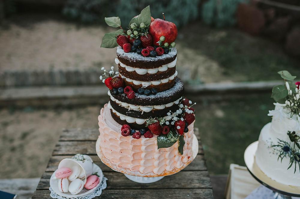 tarta de bodas