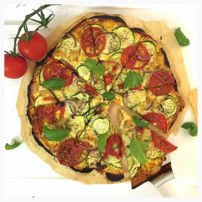 Veganer Pizzateig