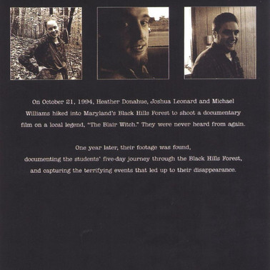 The Blair Witch Project and the Auteur