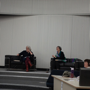 Dr Helen Pankhurst and the Closing of the xChange Festival