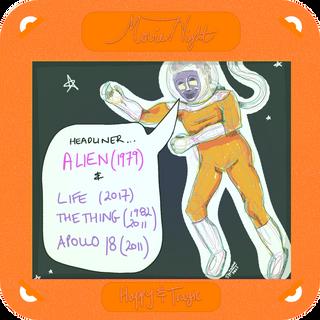 Aliens Attack! Movie Night