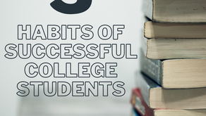 3 Habits of Successful College Students