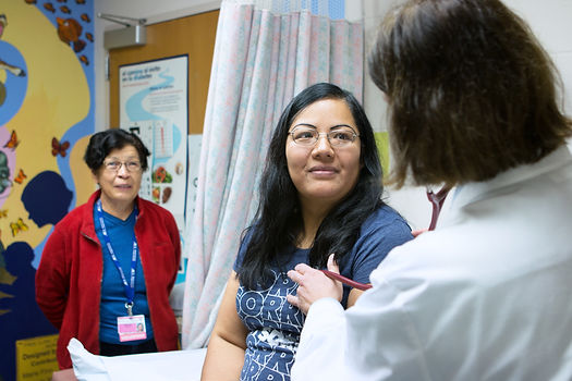 Ann Silverman Community Health Clinic, helping