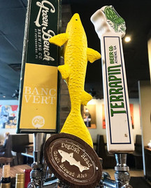_terrapinbeerco Wake-n-Bake Coffee Oatmeal Stout, _dogfishhead SeaQuench Sour & _greenbenchbrewing Saison de Banc Vert on tap now _jaxpicass