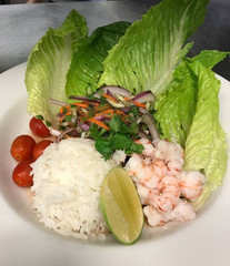 Our Thai Shrimp Salad is the perfect dish to cool you off on this warm fall day.jpg