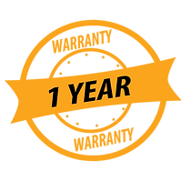 1 year warranty on any product purchased.