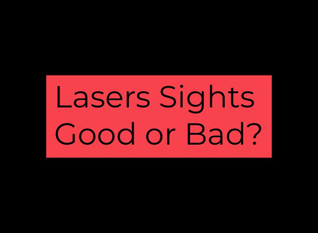 WHY YOU SHOULD CONSIDER A LASER SIGHT FOR YOUR FIREARM!