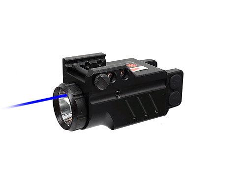 Enforcer - Blue Laser and Flashlight