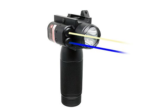 Cobra Series - TBLIR30 Blue Infrared Laser Flashlight Grip