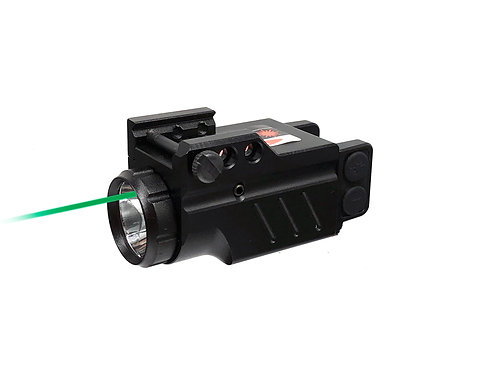 Enforcer - Green Laser Sight and Flashlight Combo