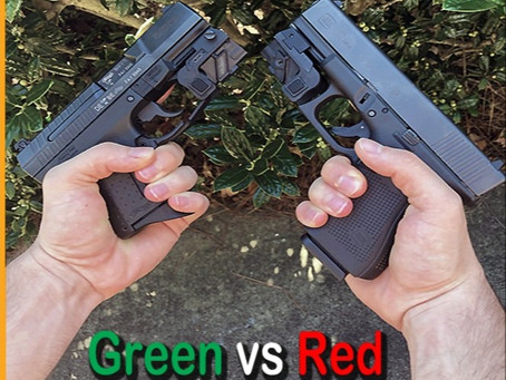 Red vs Green Laser Sights Breakdown