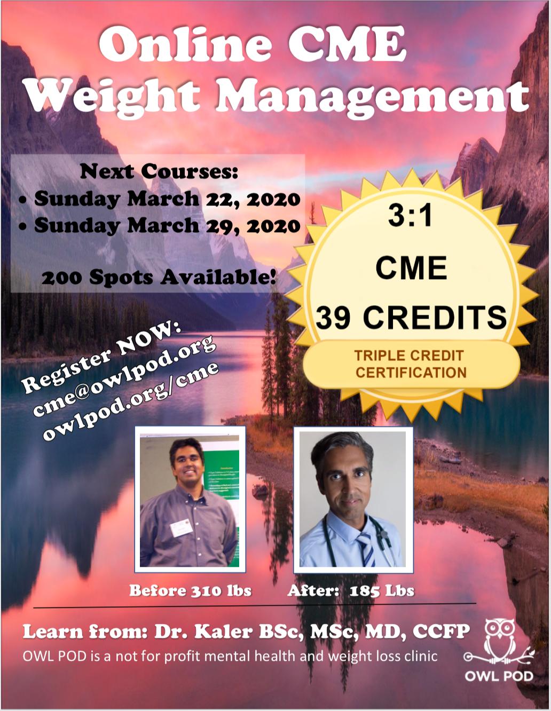 CME weight management