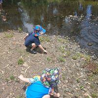 Families on creek 2