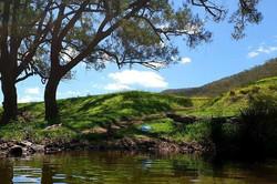 Creek land