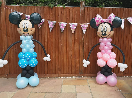 Minnie or Mickey Mouse Sculpture
