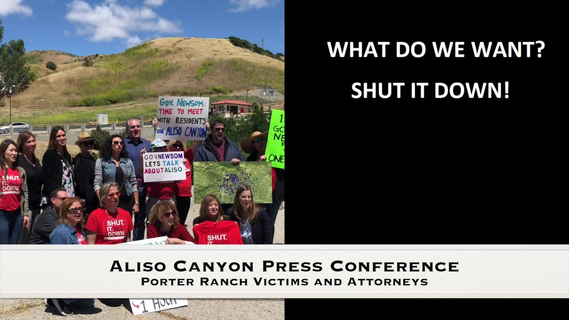 Aliso Canyon... SHUT IT DOWN.. SHUT IT DOWN!