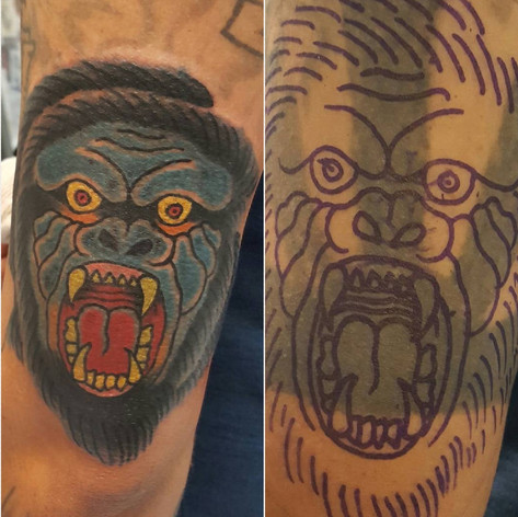 APE COVER UP