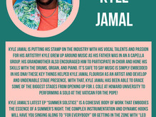 Hip Hop Artist Kyle Jamal's New Ep embodies the essence of a summer night. read about it here: