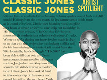 """Classic Jones talks R&B, """"The October EP"""", and the progression of his artistry"""