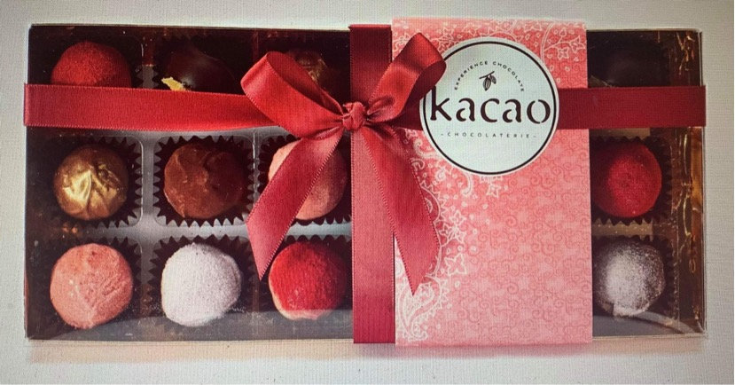 Kacao Box of 18 Truffles