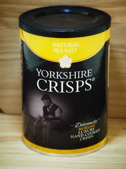 Natural Sea Salt Yorkshire Crisps 100g