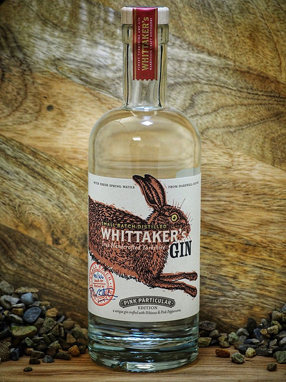 Whittakers Pink Gin 70cl