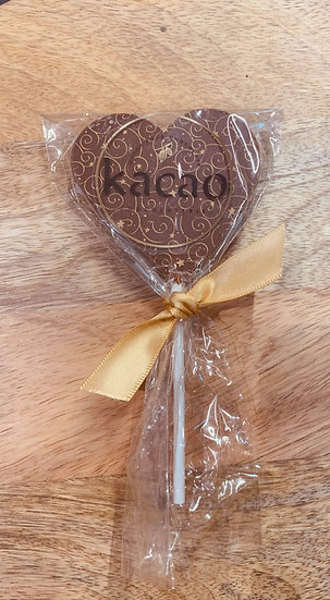 Milk Chocolate Heart Lolly