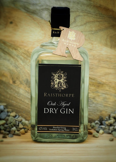 Oak Aged Yorkshire Dry Gin 70cl