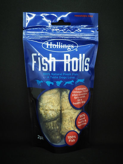 Hollings 100% Natural Fish Rolls