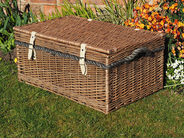 "24"" Wicker Storage Basket"