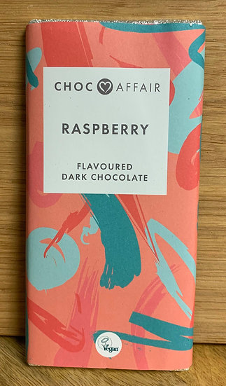 Raspberry Flavoured Dark Chocolate