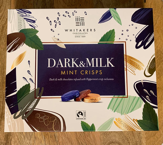 Dark And Milk Mint Crisps