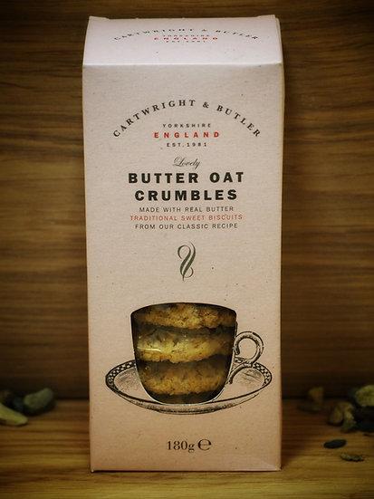 Butter Oat Crumbles