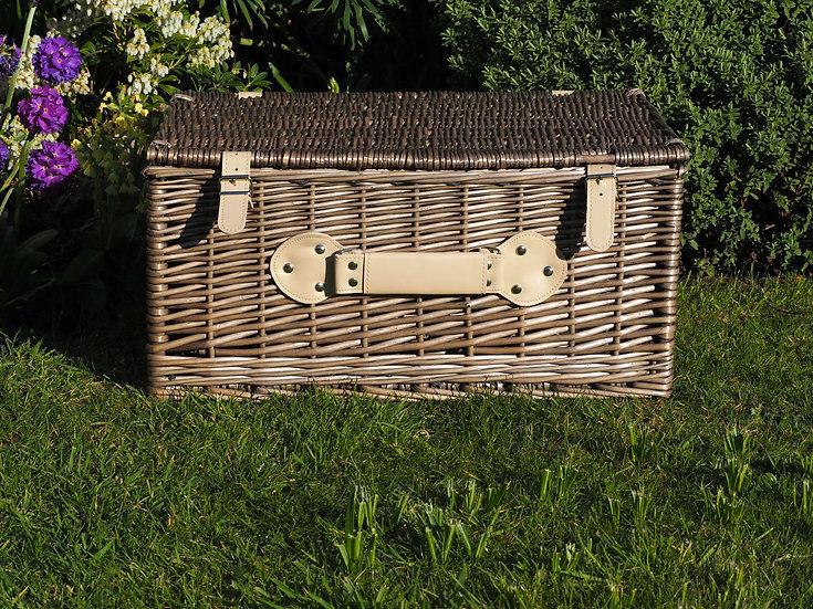 """20"""" Wicker Antique Wash Basket"""
