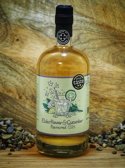 Elderflower and Cucumber Gin 70cl