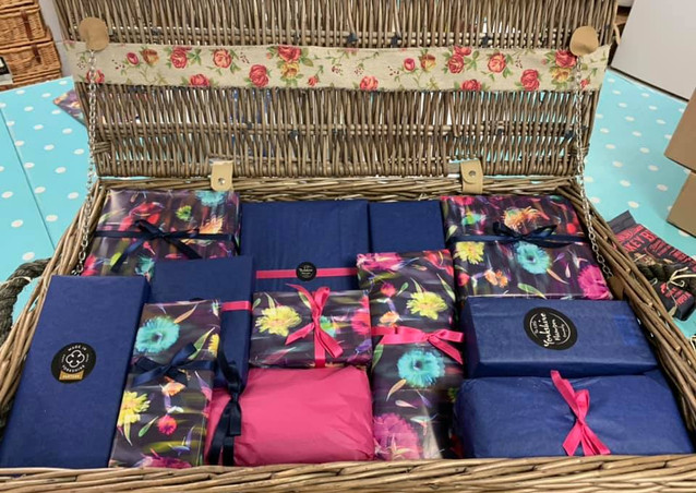 Personalised Wrapped Hamper