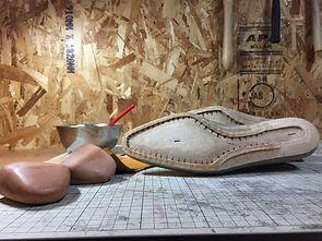 靴中底加工