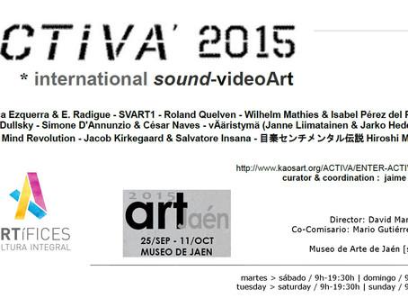 ACTIVA interenational sound Video Art