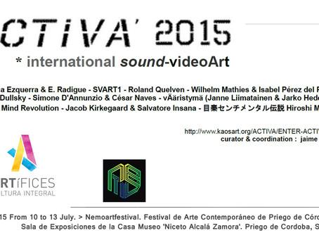 ACTIVA 2015 in Nemoartfestival (Cordoba , Spain)