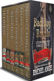 Bad Boy Royals of Kingsbury Prep Complete High School Dark Romance Series Box Set (Books 1 to 6)