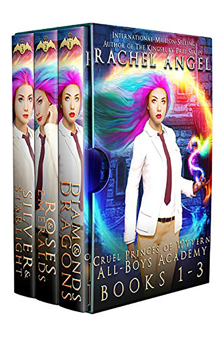 Cruel Princes of Wyvern All-Boys Academy Complete Box Set (Books 1 - 3)