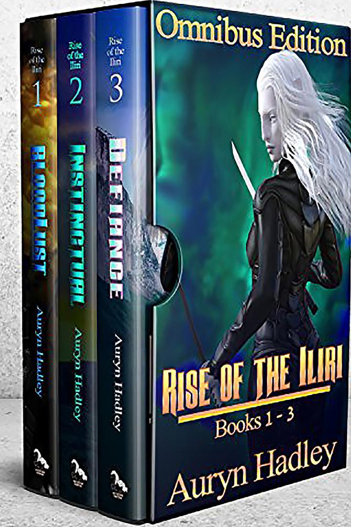 RISE OF THE ILIRI Volumes 1-3