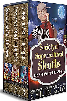 Society of Supernatural Sleuths Box Set: Books 1-3