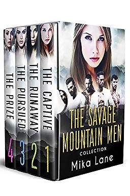 The Savage Mountain Men Romance Collection 1-4