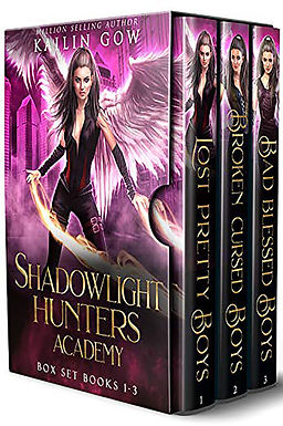 Shadowlight Hunters Academy: Books 1 - 3