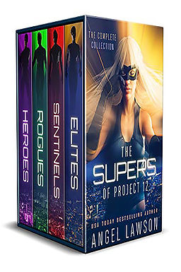 The Supers of Project 12: Reverse Harem Superhero Complete Series