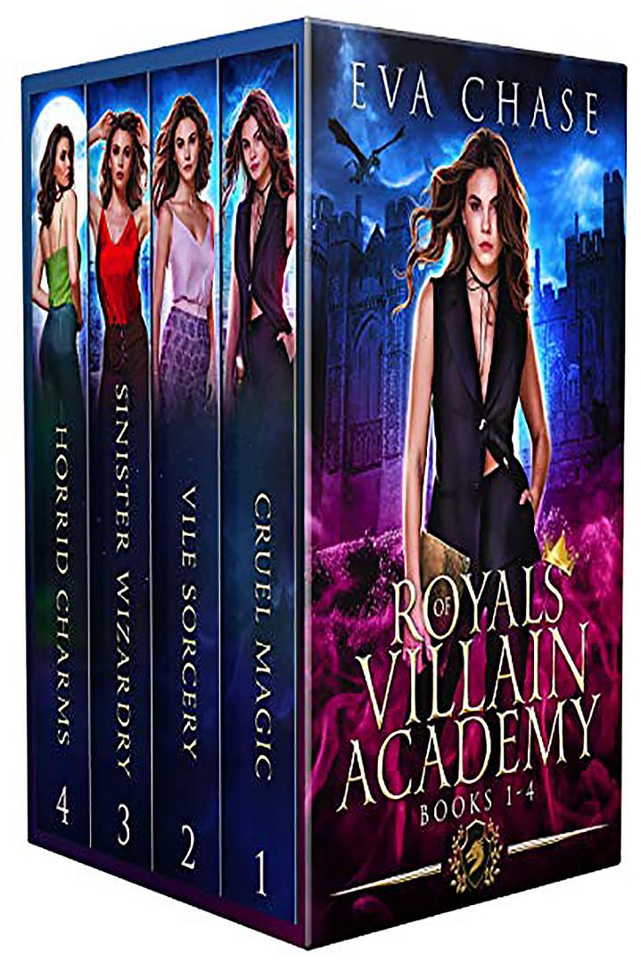 Royals of Villain Academy: Books 1-4