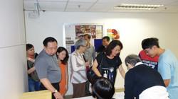 Registration of the Participants